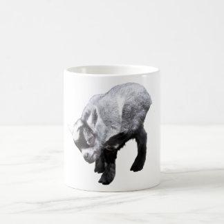 Minature Goat Scratching Mug