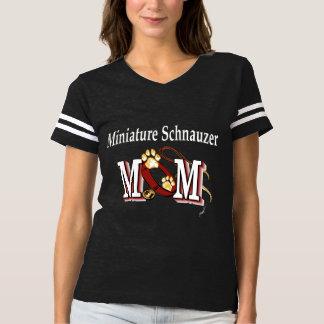 Minature Schnauzer Dog Mom T-shirt
