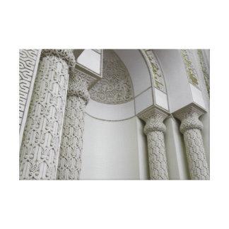 Minbar of Masjid Qiblatain Gallery Wrap Canvas
