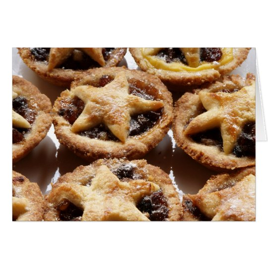 mince pies! card