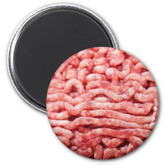 Minced meat 2 inch round magnet