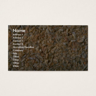 Minced onions business card