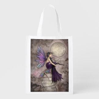 Mind Adrift Fairy Fantasy Art Grocery Bag