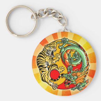 Mind and Body is One Keychain