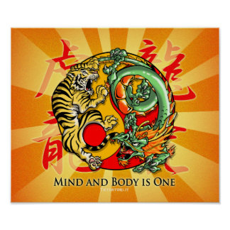 Mind and Body is One Poster