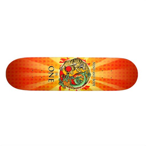Mind and Body is One Skateboards