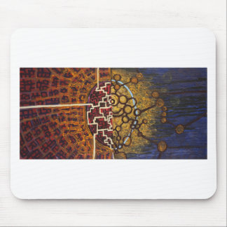 Mind and Body Mouse Pad