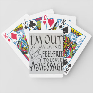 Mind Bicycle Playing Cards