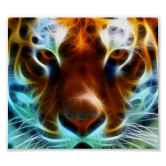 Mind Blowing Tiger Poster