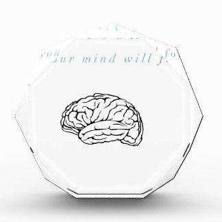 Mind Body Fellowship AA Meeting Recovery Acrylic Award