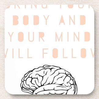 Mind Body Fellowship AA Meeting Recovery Beverage Coaster