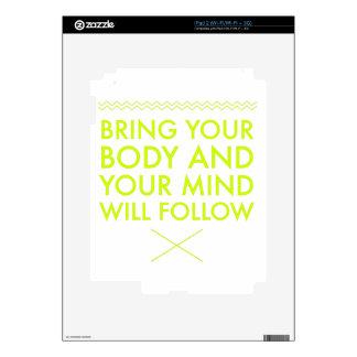 Mind Body Fellowship AA Meeting Recovery iPad 2 Skin