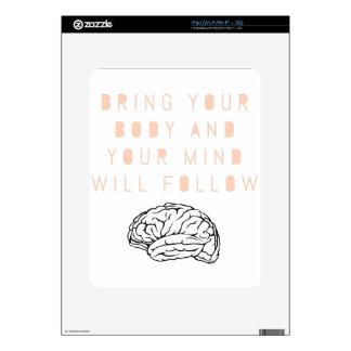 Mind Body Fellowship AA Meeting Recovery iPad Skin