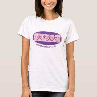Mind, Body, Heart--Connect Through Love! shirt