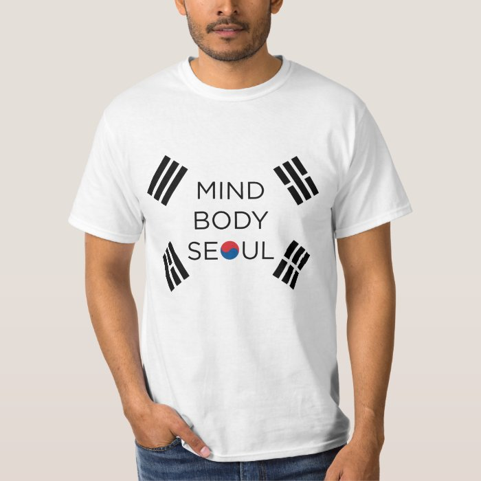 Mind Body Seoul Design T-Shirt