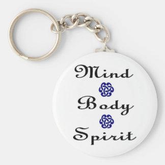 Mind Body Spirit Key Chain