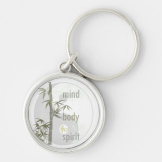 Mind Body Spirit Keychain