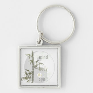 Mind Body Spirit Keychain