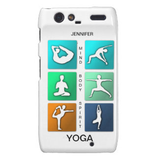 Mind, Body, Spirit Yoga Razr Case Motorola Droid RAZR Covers