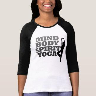 Mind Body Spirit YOGA T Shirts