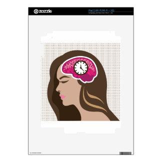 Mind Clock. iPad 2 Decal