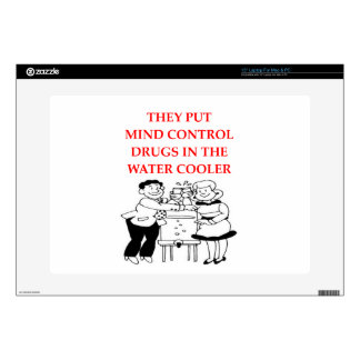 "mind control 15"" laptop decal"