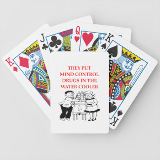mind control bicycle playing cards