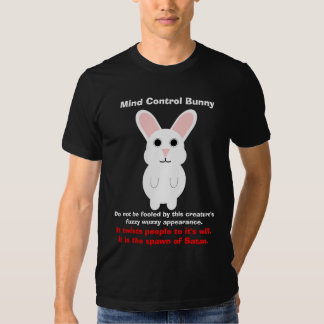 Mind Control Bunny T-shirt
