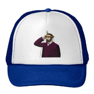Mind Control Contraption Steampunk Trucker Hats