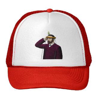 Mind Control Contraption Steampunk Mesh Hat