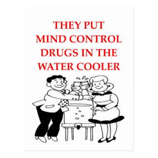 mind control postcard