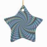 Mind Destroyer - Fractal Art Ceramic Ornament