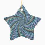 Mind Destroyer - Fractal Art Ceramic Ornament