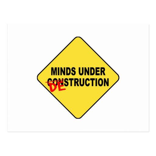 Mind Destruction Postcard