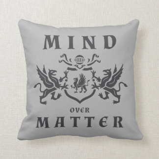 Mind Griffin Shield Throw Pillow