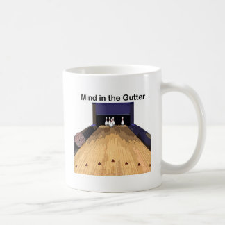 Mind in the Gutter Classic White Coffee Mug
