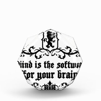 Mind Is A software For Your Brain Medieval quote Award
