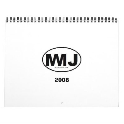Mind Junket 2008 Wall Calendars