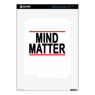 Mind Matter.png Decal For iPad 3