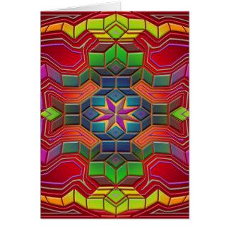 mind maze greeting card