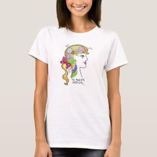 Mind of a Derby Girl remdesigns/ Elektra Q-Tion T-Shirt