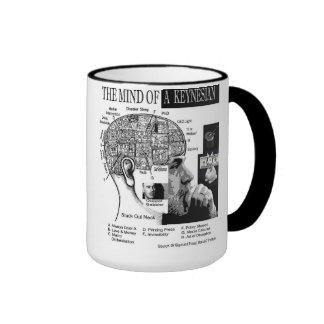 Mind of a Keynesian Ringer Coffee Mug