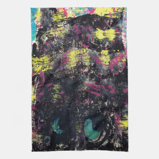 Mind of the Cat Hand Towel
