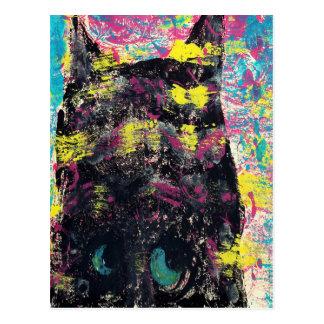 Mind of the Cat Postcard