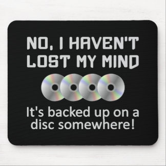 Mind On a Disc mousepad