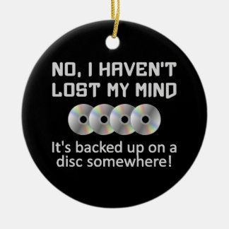 Mind On a Disc ornament