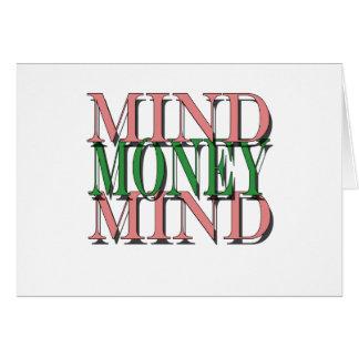 Mind on my money, money on my mind card