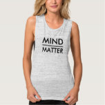 Mind Over Matter Bella Flowy Muscle Tank Top