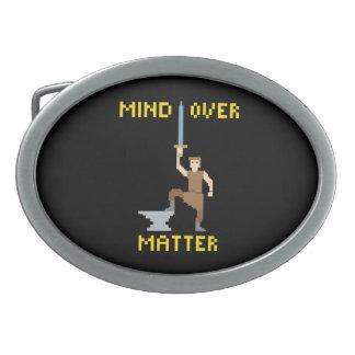 Mind Over Matter - Belt Buckle