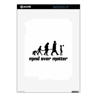 Mind over Matter Decals For iPad 2